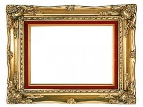 Schloss Sanssouci Pracht Barockrahmen Barock Bilderrahmen Gold Rokoko Massiv Holz mit Samteinlage