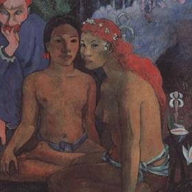 Contes barbares. Original gemalt in 1902