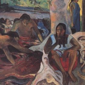 Fischerinnen . Original gemalt in 1891