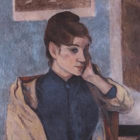 Madame Bernard. Original gemalt in 1888