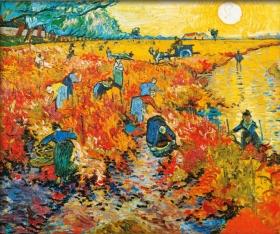 Roter Weingarten