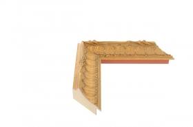 CHATEAU - Louis XV Gold 5cm breit